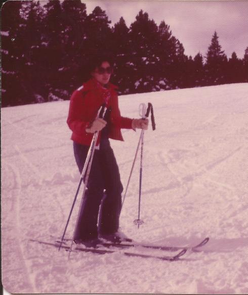 Elaine ski 1978