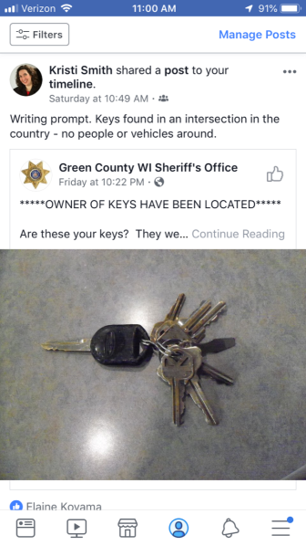 Keys found