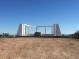 Butte Camp memorial, restored.